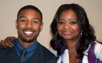Michael B. Jordan & Octavia Spencer, Oakland  CA, 6/21/13