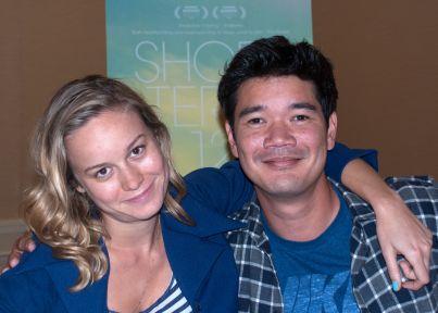 Brie Larson & Destin Cretton, San Francisco, CA 7/31/13 (Photo by Andrea Chase)