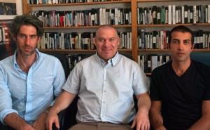 Nadav Schirin, Gonen Ben Yitzak, Mossab Hassan Yousef , San Franisco, CA 7/25/14