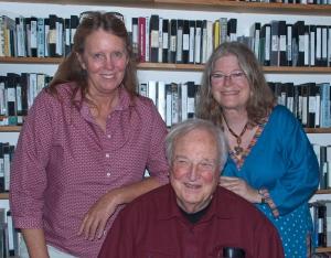 Chris Simon, Chris Strachwitz, and Maureen Gosling, San Francisco, CA 9/4/14
