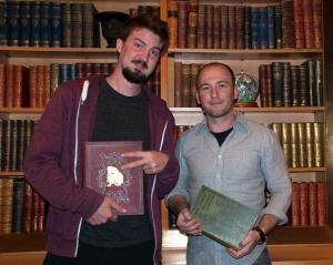 Adam Wingard and Simon Barrett, San Francisco, CA 4/28/13