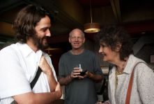 Marques-Marcet, SFFCC President Tim SIka, SF Chronicle critic Ruthe Stein