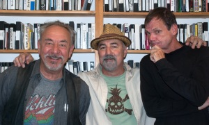 Will Durst, Johnny Steele, and Larry